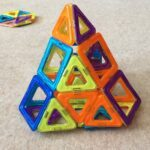 Magnetic Tile pyramid