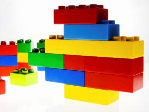 LEGO Duplo tower