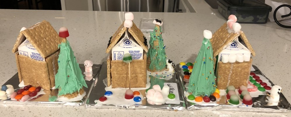 easy gingerbread houses to make with children