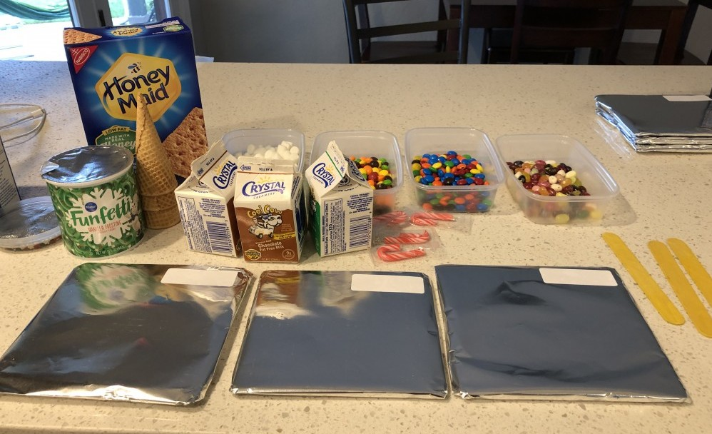 gingerbread house supplies and base