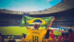 virtual trip to South America for homeschoolers - Brazilian football
