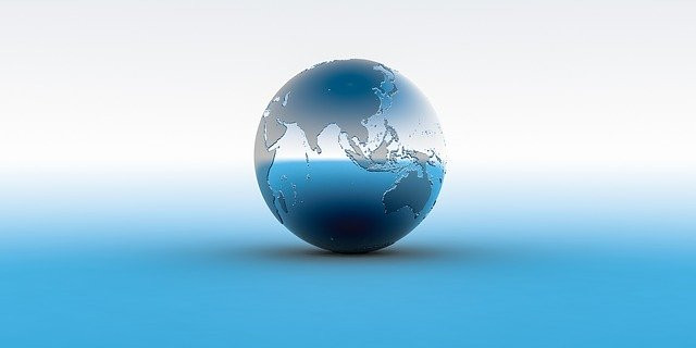 virtual trip to asia for homeschoolers - photo of globe featuring asia